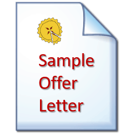 slicing pie offer letter template