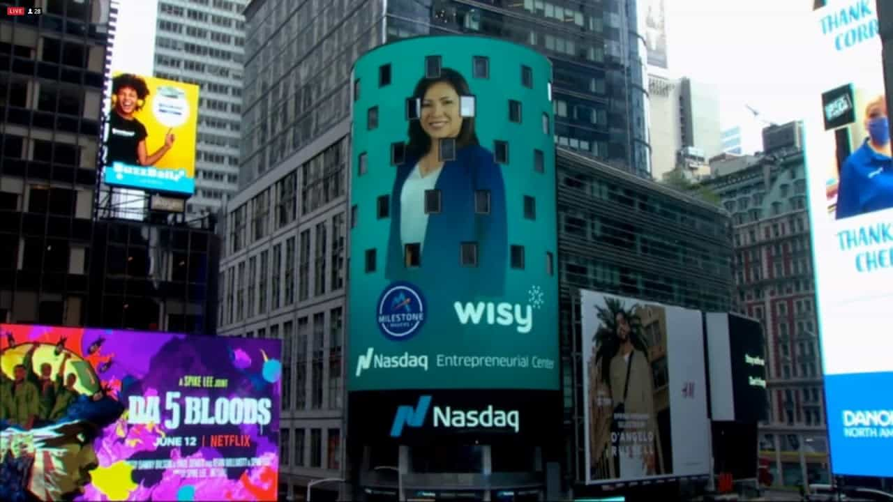 Wisy In Time Square